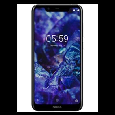 Nokia 5.1 Plus (3 GB/32 GB) Black Colour