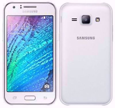 Samsung Galaxy J1 (512 MB/4 GB) white