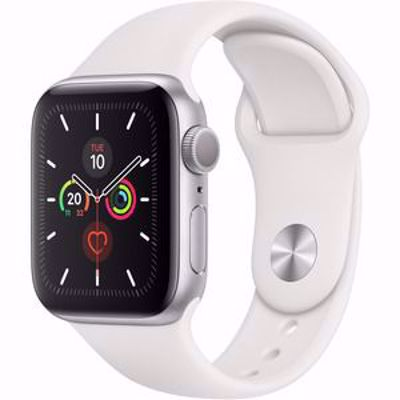 APPLE WATCH S5 GPS+4G SILVER ALUM 44 MM