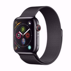 APPLE WATCH S4 GPS+CELLULAR BLACK SS 40MM