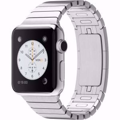 APPLE WATCH SERIES S1 SILVER STAINLESS STEEL 38MM