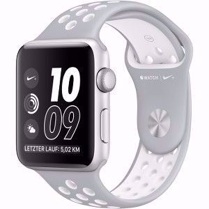 APPLE WATCH NIKE+ SILVER ALUMINIUM 42MM