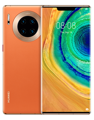 Huawei Mate 30 Pro (8 GB/256 GB) Orange Colour